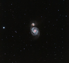 M51 v2 (kappacygni) Tags: canon spiral eos whirlpool galaxy canes m51 phd meade venatici 450d eq6 maxvision Astrometrydotnet:status=solved qhy5 astro:subject=m51 Astrometrydotnet:version=14400 Astrometrydotnet:id=alpha20100608679859 astro:gmt=20100416t2330