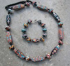 für mich selbst (greti53) Tags: armband necklace polymerclay fimo schmuck ketten