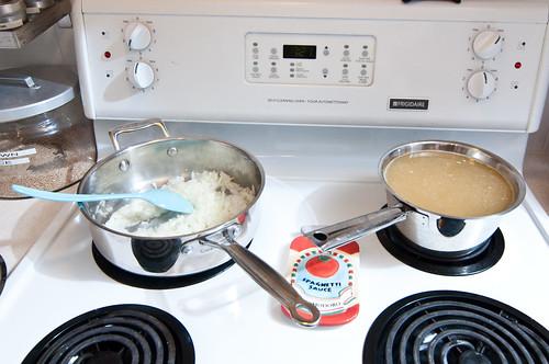 Saucepans Ready