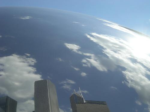 Cloud Gate, aka the Bean, June 2010
