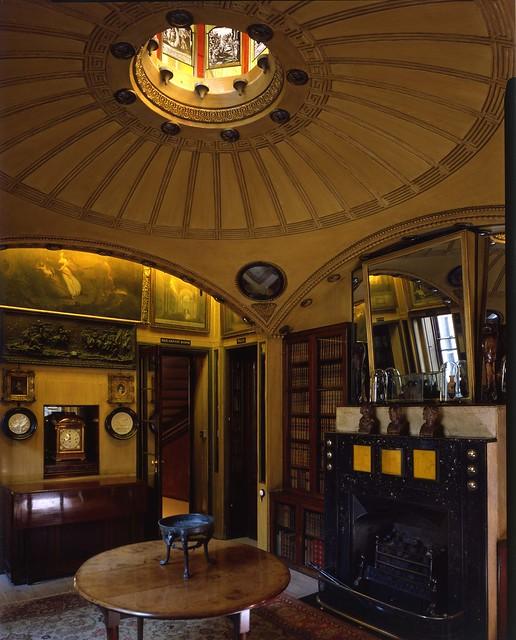 Breakfast room.John Soane's Museum.Copyright: Martin Charles