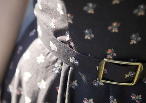 Vogue Vintage Dress - Belt