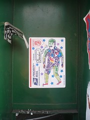 (Koleoptere) Tags: california paris green collage les oakland sticks sticker stickers s 75 autocollant californie sous koleo ovidie koleoptere