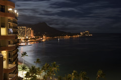 Mahina Waikiki (x-ray tech) Tags: longexposure hawaii hotel paradise nightshot waikiki oahu resort aloha hdr royalhawaiian photomatix ef1635mmf28l adobephotoshopcs4 5dmarkii canoneos5dmark2