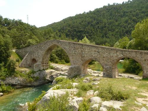 Pont medieval de Sant Quirze de Pedret