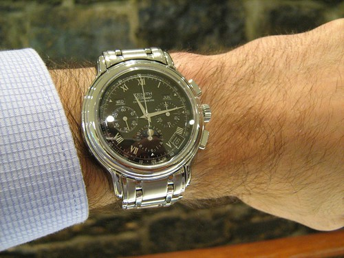 Zenith El Primero Chronomaster on Wrist