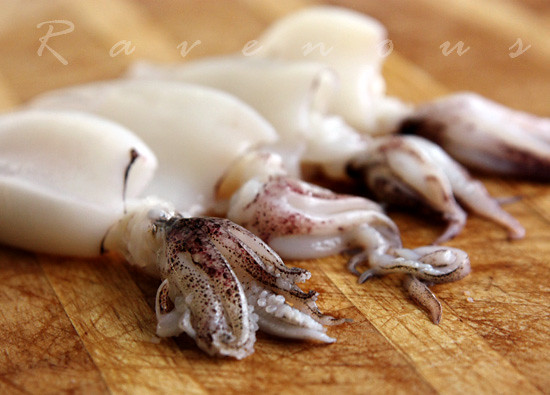 stuffed squid