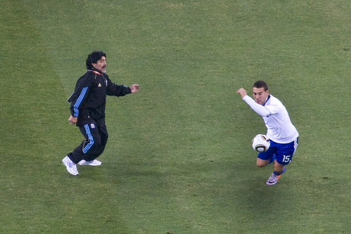 Coach Maradona