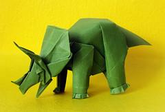 Triceratops - Fumiaki Kawahata (FernandoBarbieri) Tags: triceratops kawahata fumiaki