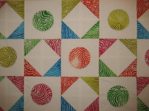 Fingerprint batik
