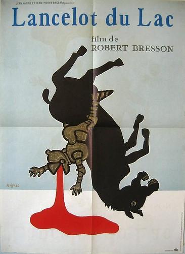 'Lancelot du Lac' film poster