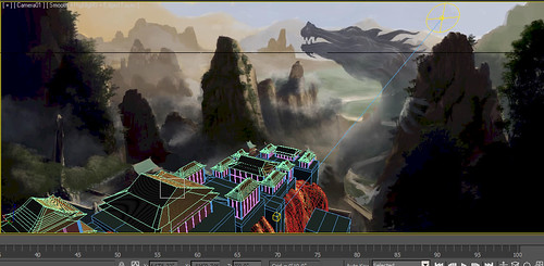Shaolin Temple WIP screen grab