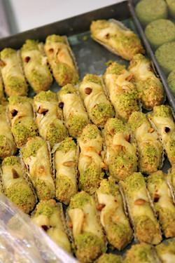 pistachio pastries