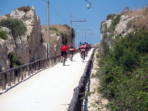 Siracusa-pista ciclabile