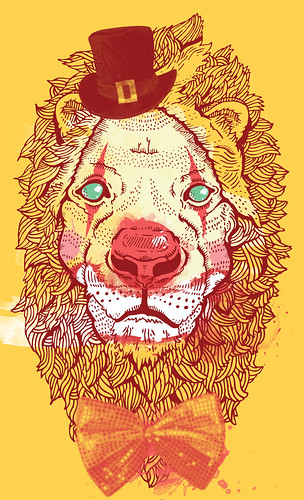the endangered circus lion