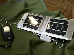 KAY.T先輩のソーラー充電器