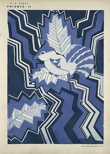 027-Prismes 40 planches de dessins et coloris nouveaux 1931- Eugene Alain Seguy