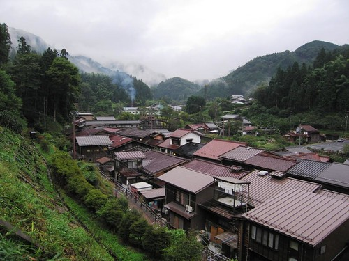 Overlooking - Tsumago, Japan
