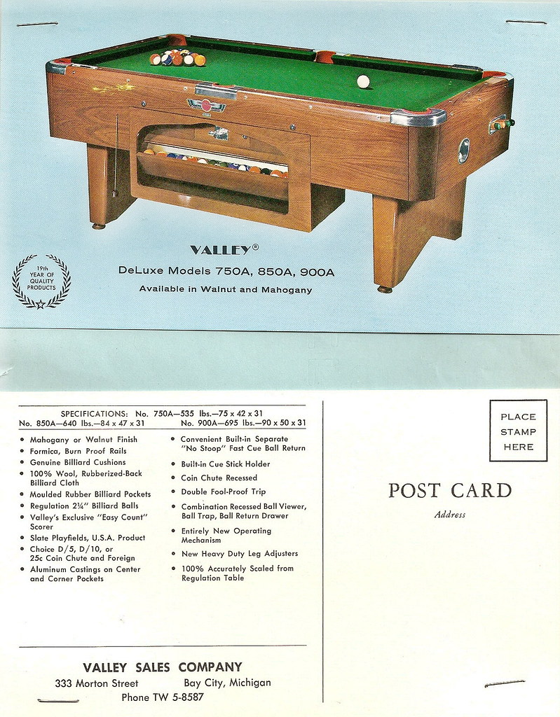 The Worlds Best Photos By ValleyDynamo Museum Flickr Hive Mind - Valley pool table models