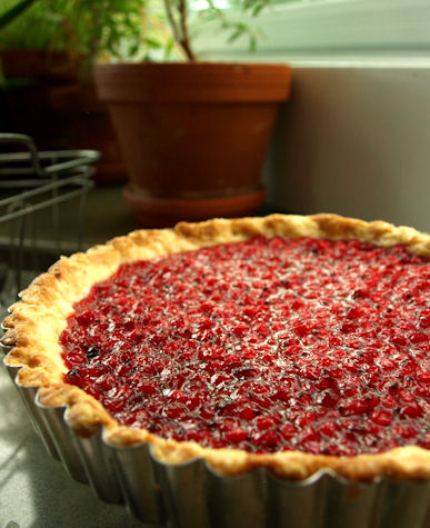 Dog Hill Kitchen: Red Currant-Cornmeal Tart