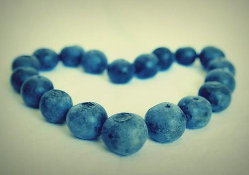 I <3 blueberries!