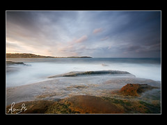 Sunset over Dee Why Beach (sachman75) Tags: longexposure seascape clouds coast rocks sydney australia coastal nsw longreef deewhybeach nothernbeaches leefilters ndgrad2stopsoft canon5d1740mm