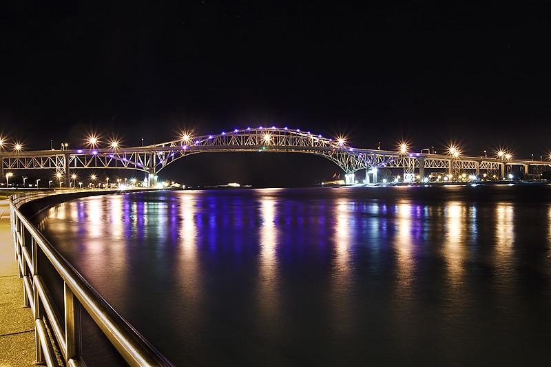 Blue Water Bridge, Port Huron, Michigan