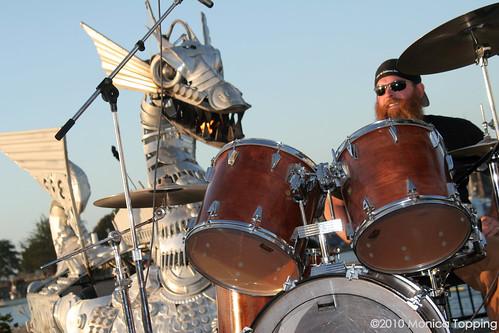Steve Bohner & Flatmo dragon