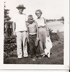 AUNT AND UNCLE WITH NEPHEW 1950 (roberthuffstutter) Tags: arlington barechested mtwashington jeans nephews aunts familyphotos kcmo uncles oldfamilyphotos keds happy4th younglad cavedwellers hotoffthepress timeflys vintageblackandwhite huffstutter robertlhuffstutter vanhornhighschool bobhuffstutter boysshoes1950s america1950s tennisshoes1950s