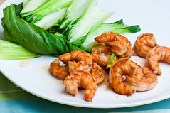 Shrimp & Bok Choy