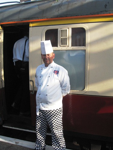 Pullman Dining - Chef on the Heritage Train (UK)