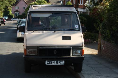 1986 Renault Traffic 2 1 Diesel Camper Van in Ipswich - a