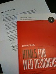 HTML5 for Web Designers (Tim Van Damme) Tags: orange book jeremykeith book:author=jeremykeith abookapart html5forwebdesigners book:title=html5forwebdesigners adactio:post=1678