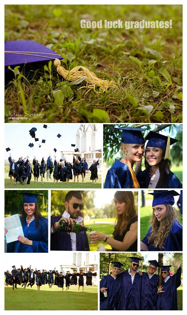 good luck graduates