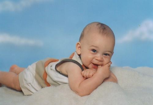 Aidan at Six Months