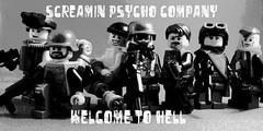 Screamin Psycho Propaganda/ Poster (Hound') Tags: lego picnik brickarms usdf