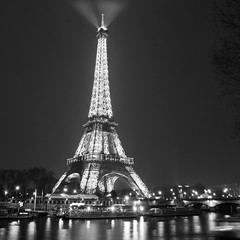 Eiffel Tower - Paris - night (Igor / Nikon D5100) Tags: paris france night eiffeltower nationalgeographic v flickraward v