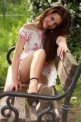Portrait (Catalin_Pop) Tags: summer portrait woman girl beautiful smile canon happy pretty outdoor young babe teen chip portret uman fata femeie zambet bruneta celebritieshalloffame outstandingromanianphotographers
