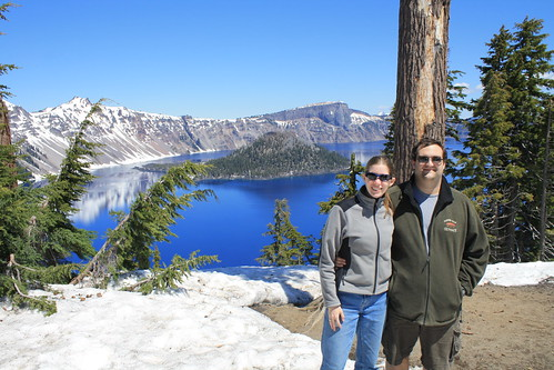Ian & Katie at Crater Lake