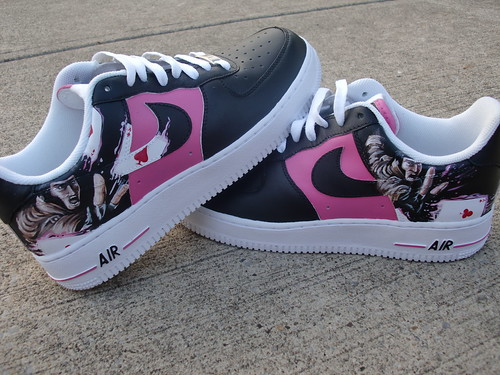 separation shoes 8425f 9cf43 4770827033 b71b3dcf36 Gambit X Men Custom Nike AF1 Kicks