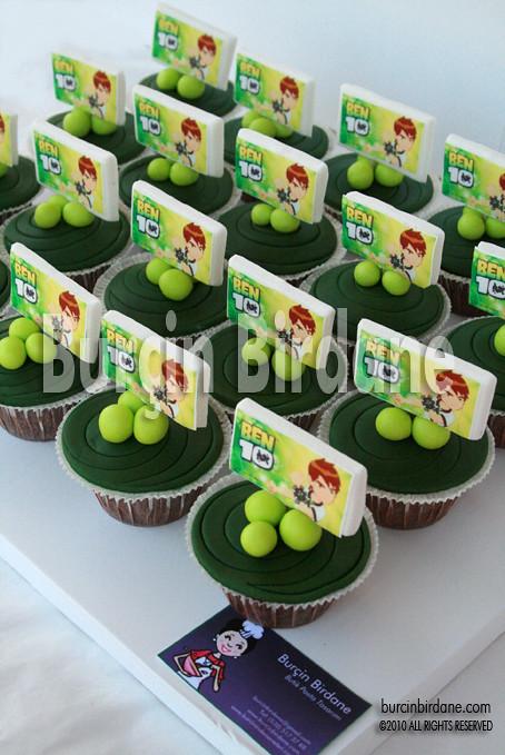Ben10 Cupcake 1
