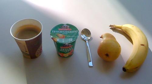 Haselnussjoghurt, Birne & Banane