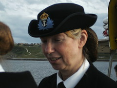 7th July 2010 034 (I Poper) Tags: sea hat boat seaside uniform wwii 1940s anchor ww2 crown scarborough afmc reenactment reenactor wartime officers servicedress wrns regallady navaloffiers 7thjuly2010