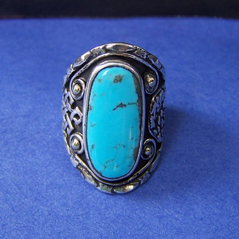 Aquila Turquoise Ring of the Aquilifer