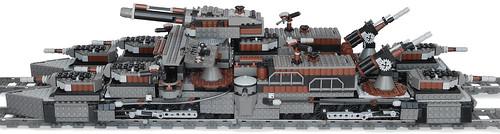 Lego Steampunk Train Tag Train War Ship Lego