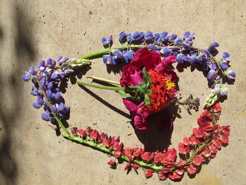 Flower Wreath Art