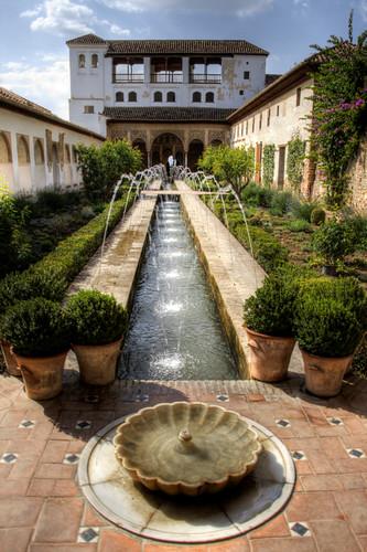 Patio de la acequia. Generalife. Alhambra.