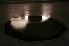 Der Patio de Mexuar in der Alhambra bei Nacht, Andalusien