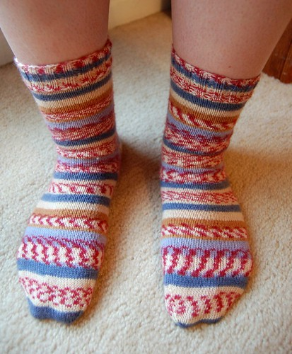 FO: more socks