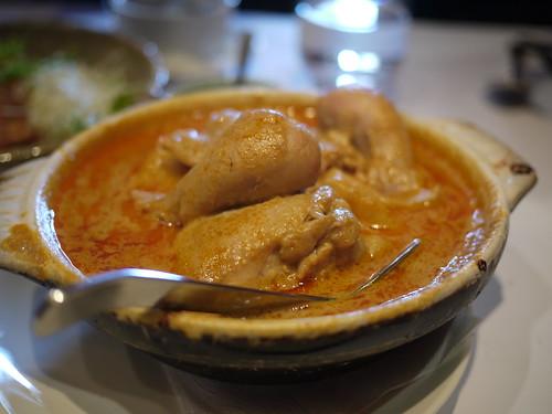 瓦城-綠咖哩椰汁雞
